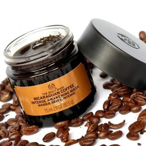 THE BODY SHOP NICARAGUAN COFFEE MASK NWT